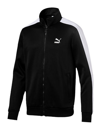 Puma Archive T7 Track Jacket-BLACK-Small