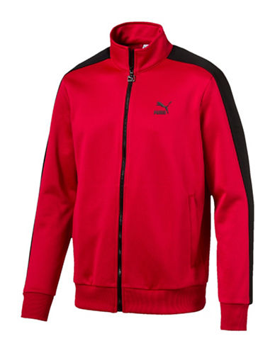 Puma Archive Track Jacket-RED-Large