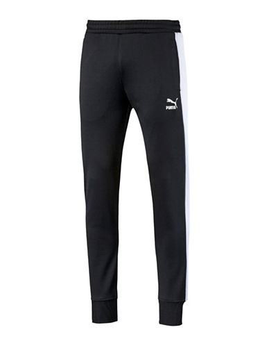Puma Archive T7 Track Pants-BLACK-X-Large