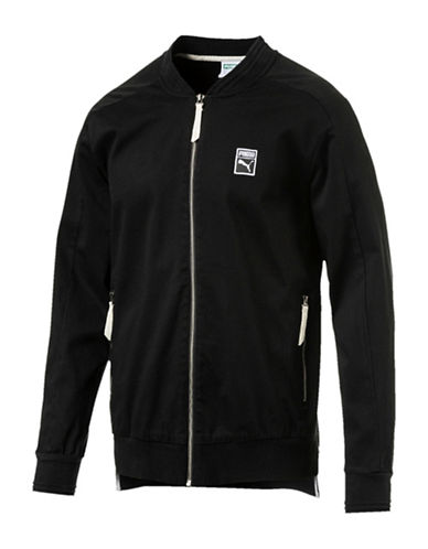 Puma Signature Woven Jacket-BLACK-X-Large 89341781_BLACK_X-Large