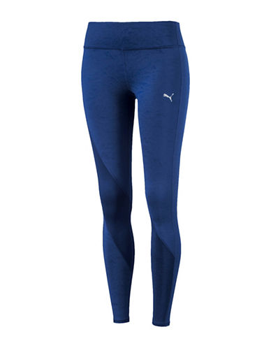 Puma Clash Performance Tights-BLUE-X-Large