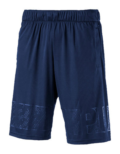 Puma Motion Flex Graphic Shorts-BLUE-XX-Large