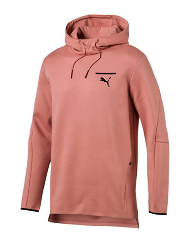 Puma Sporty Regular-Fit Hoodie-BROWN-XX-Large