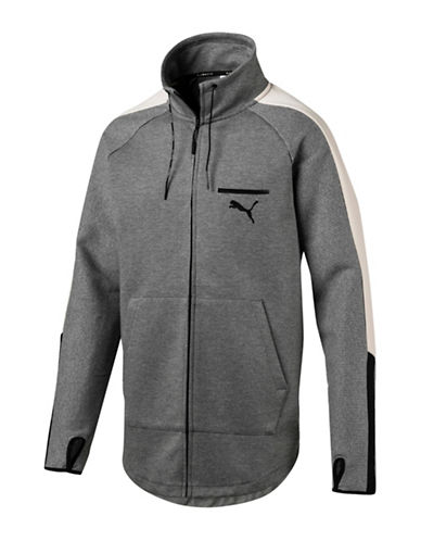 Puma Evo T7 Jacket-GREY-Large