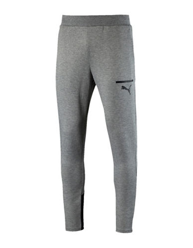 Puma Evo Core Pants-GREY-X-Large