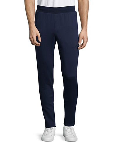 Puma Evo Core Athletic Pants-BLUE-Small
