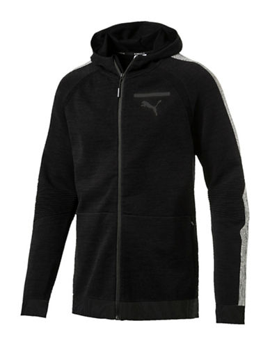 Puma Evoknit Move Hoodie-BLACK-Medium