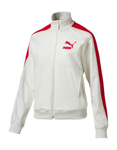 Puma True Archive Track Jacket-WHITE-Small