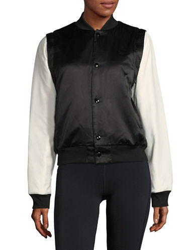 Puma Zip-Off Sleeves Bomber Jacket-BLACK-Small