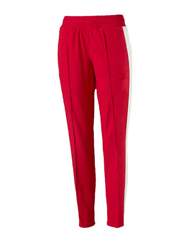 Puma True Archive T7 Track Pants-RED-Small