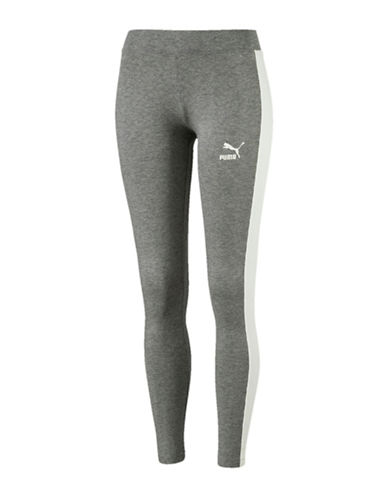Puma Archive Logo T7 Legging-GREY-Small