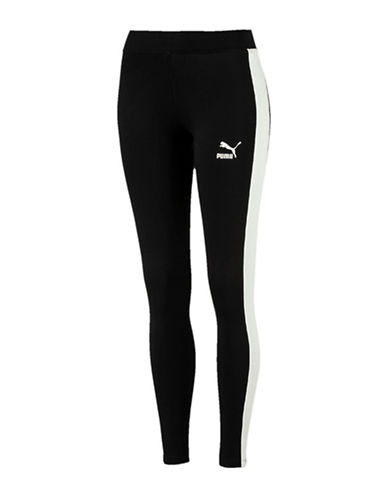 Puma Archive Logo T7 Leggings-BLACK-Large