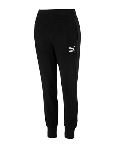 Puma Archive Logo T7 Leggings T7 Trackpants-BLACK-Medium