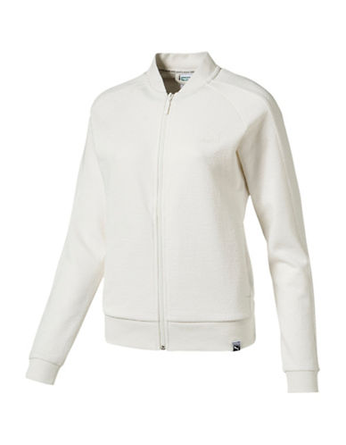 Puma Archive T7 Track Jacket-WHITE-Small