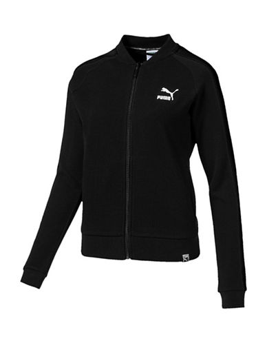 Puma Archive T7 Track Jacket-BLACK-Medium