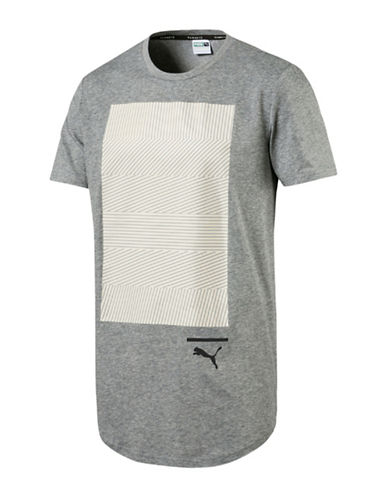 Puma Evo Rib Drycell Tee-GREY-XX-Large 89375691_GREY_XX-Large
