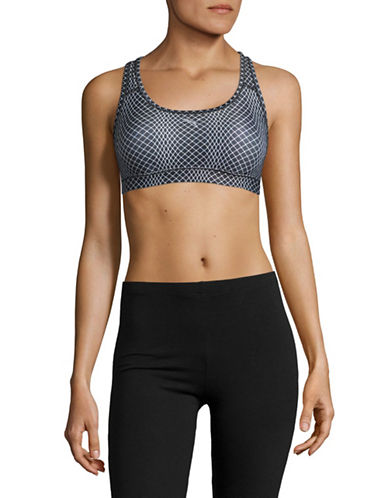 Puma Powershape Medium Impact Sport Bra-BLACK MULTI-34C