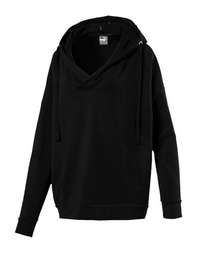 Puma Fusion Drawstring Hoodie-BLACK-Medium 89601662_BLACK_Medium