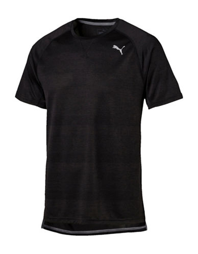 Puma Energy Crew Neck Tee-BLACK-X-Large