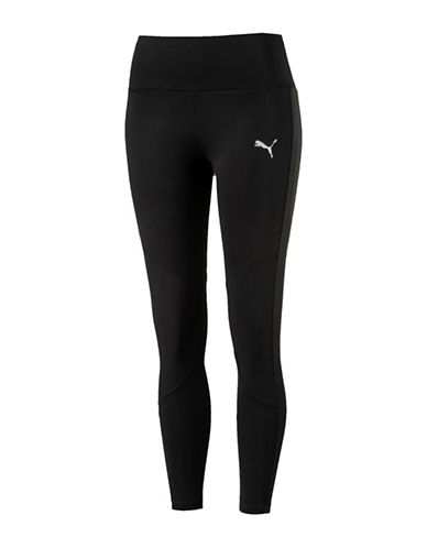 Puma Transition Leggings-BLACK-Large