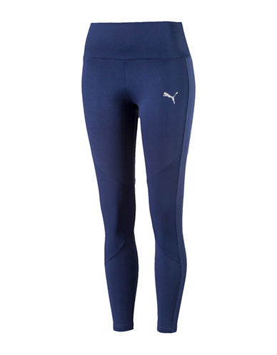 Puma Transition Leggings-BLUE-Medium