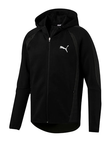Puma Evostripe Ultimate FZ Warmcell Hoodie-BLACK-Large