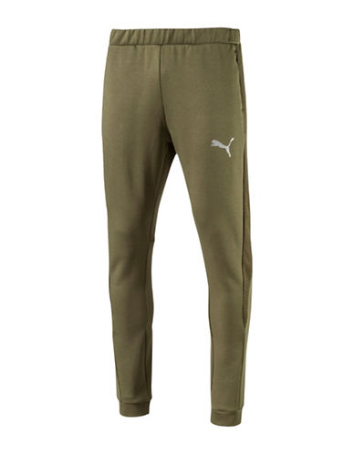 Puma Evostripe Ultimate Warmcell Pants-GREEN-Large