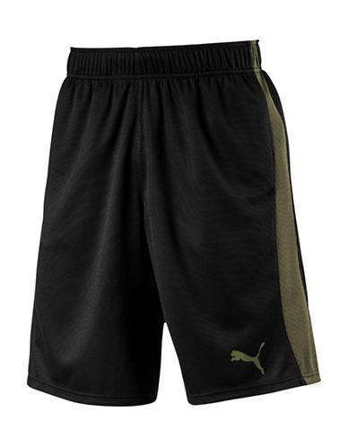 Puma Formstripe Mesh Shorts-BLACK-X-Large 89375761_BLACK_X-Large