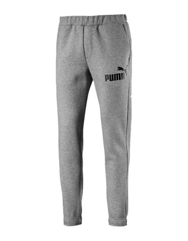 Puma Essential No.1 Sweatpants-GREY-XX-Large