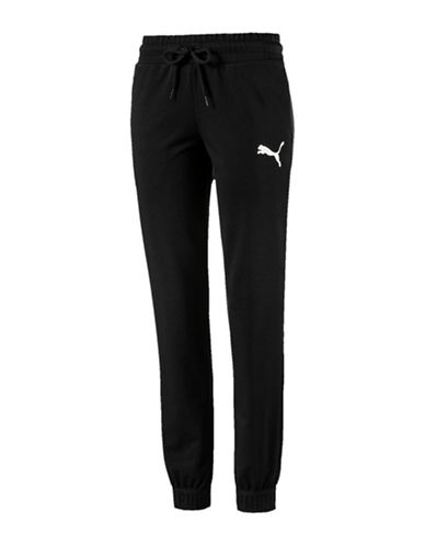 Puma Urban Sports Sweatpants-BLACK-Small