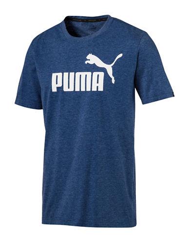 Puma Ess No.1 Heather Tee-BLUE-X-Large