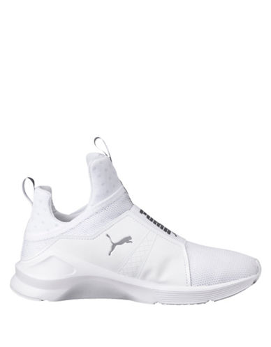 Puma Fierce Slip-On Sneakers-WHITE-9.5