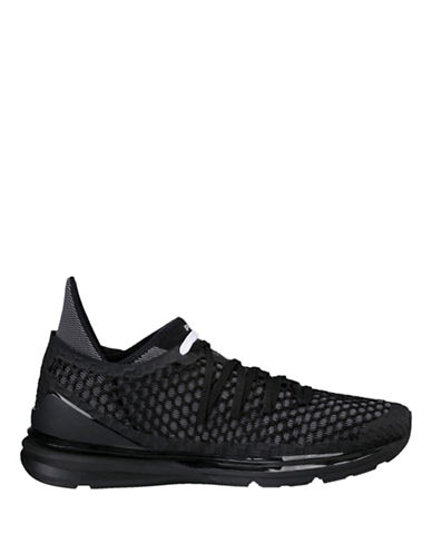 Puma Mens Ignite Limitless Netfit Sneakers-BLACK-8.5