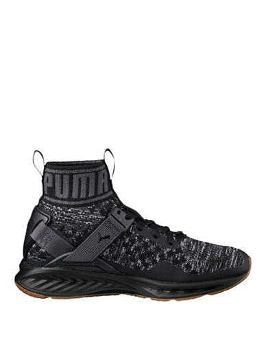 Puma Evo Knit Sneakers-BLACK-9
