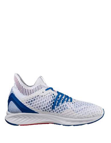 Puma Ignite Netfit Running Shoes-WHITE-10.5