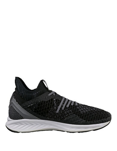 Puma Ignite Netfit Running Shoes-BLACK-10.5