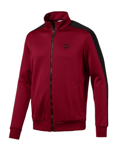 Puma Archive T7 Track Jacket-RED-Medium