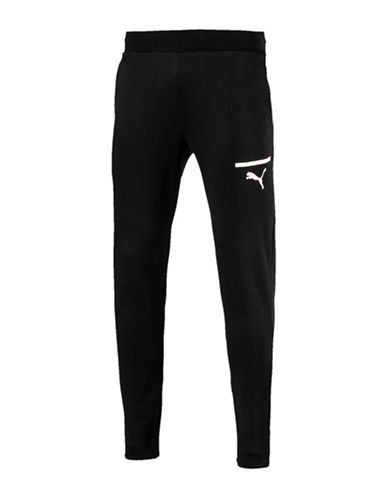 Puma Reflective Logo Jogger Pants-BLACK-Medium 89695502_BLACK_Medium