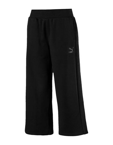 Puma T7 Archive Stretch Pants-BLACK-Small 89693276_BLACK_Small