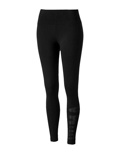Puma Athletic Leggings-BLACK-X-Small 89693315_BLACK_X-Small