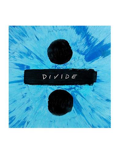 Vinyl Ed Sheeran - Divide-BLACK-One Size