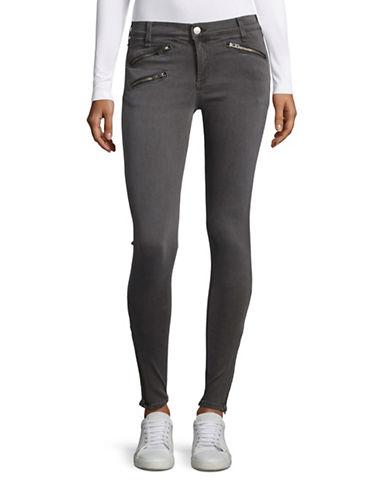 Rag & Bone Seattle Zip Skinny Jeans-GREY-26