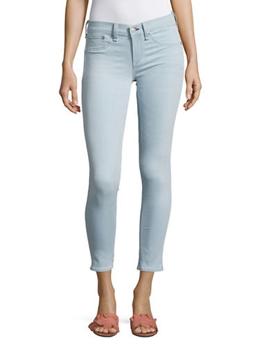 Rag & Bone/Jean Fay Capri Skinny Jeans-BLUE-25