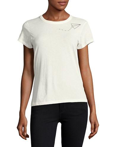 Rag & Bone/Jean Paper Plane T-Shirt-WHITE-Small 89048286_WHITE_Small