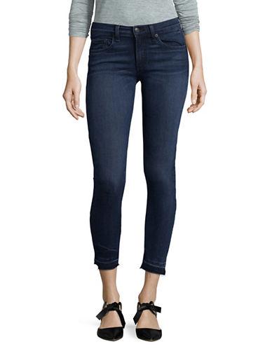 Rag & Bone/Jean Skinny Release Hem Jeans-BLUE-30