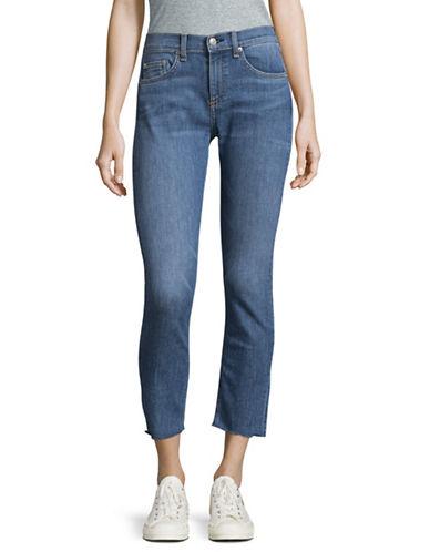 Rag & Bone/Jean Lucky Rouge Capri Skinny Jeans-BLUE-31