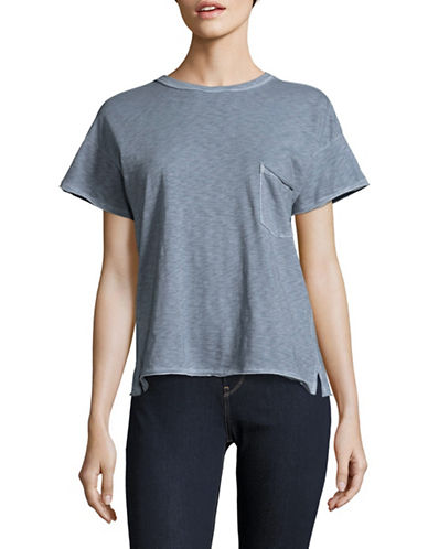 Rag & Bone/Jean Vintage Crew T-Shirt-BLUE-Large