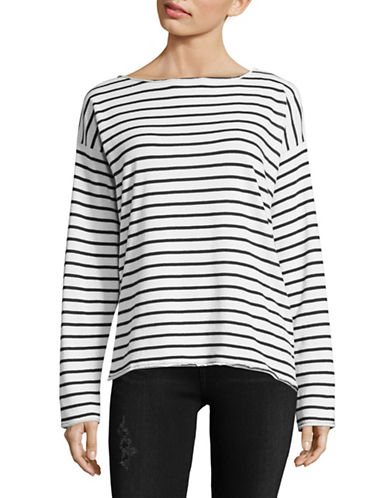 Rag & Bone/Jean Dakota Striped Top-WHITE-Small 89578934_WHITE_Small