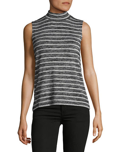 Rag & Bone/Jean Thea Striped Stretch Tank-BLACK MULTI-Medium