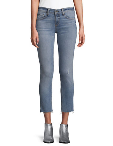 Rag & Bone/Jean Slim-Fit Boyfriend Jeans-BLUE-31